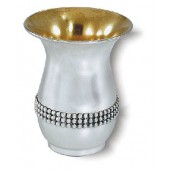 Pearl Strip Kiddush Cup