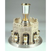 CALL FOR PRICE  Jerusalem Heritage Wine Fountain