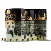 Jerusalem of Gold Menorah