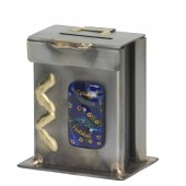 Metal Tzedakah box