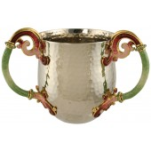 Hammered Washing Cup